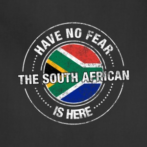 Have No Fear The South African Is Here Shirt - Adjustable Apron