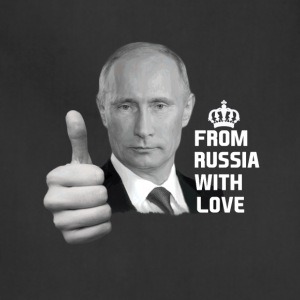 Vladimir Putin From Russia with Love - Adjustable Apron