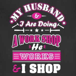 Mechanic Wife Shirt - Adjustable Apron