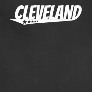 Cleveland Retro Comic Book Style Logo - Adjustable Apron