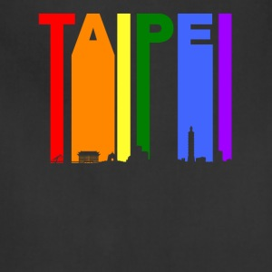 Taipei Taiwan Skyline Rainbow LGBT Gay Pride - Adjustable Apron