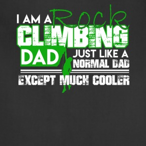 Cooler Dad Rock Climbing Shirt - Adjustable Apron