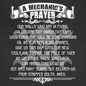 Mechanic Prayer Shirt - Adjustable Apron