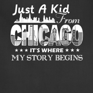 Chicago Shirt - Adjustable Apron