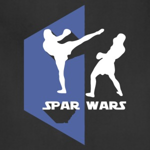 Spar Wars Karate MMA T-shirt - Adjustable Apron