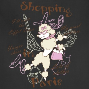Shopping in Paris - Adjustable Apron