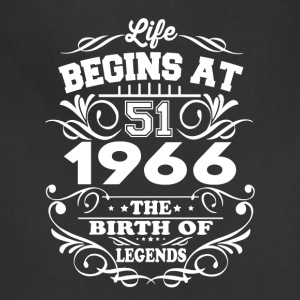 1966 The Birth Of Legends T-Shirt - Adjustable Apron