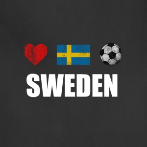 Sweden Football Swedish Soccer T-shirt - Adjustable Apron