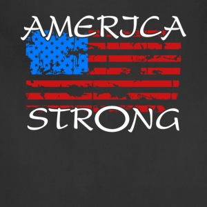 America Strong T Shirt - Adjustable Apron