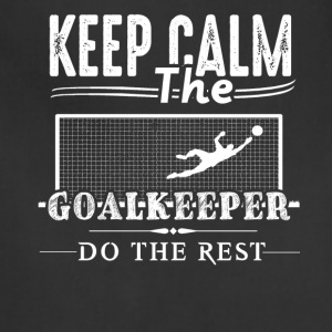 Goalkeeper Do The Rest Shirt - Adjustable Apron