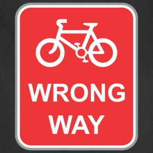 Road_sign_wrong_way_bicycle - Adjustable Apron