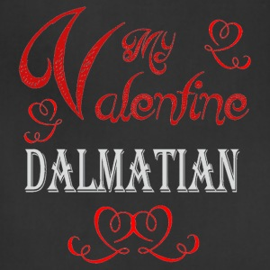 A romantic Valentine with my Dalmatian - Adjustable Apron