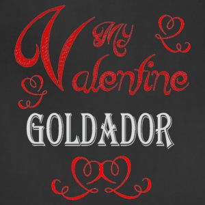 A romantic Valentine with my Goldador - Adjustable Apron