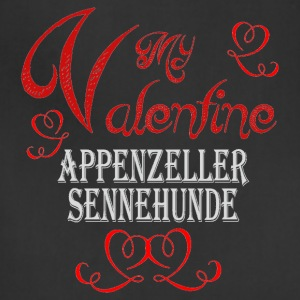 A romantic Valentine with my Appenzeller Sennenhun - Adjustable Apron
