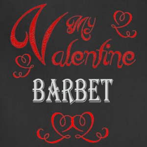 A romantic Valentine with my Barbet - Adjustable Apron