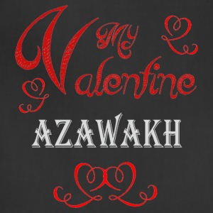 A romantic Valentine with my Azawakh - Adjustable Apron