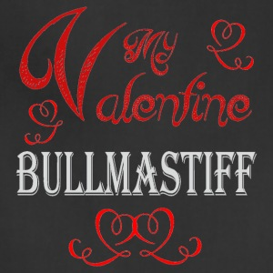 A romantic Valentine with my Bullmastiff - Adjustable Apron