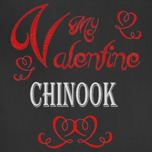 A romantic Valentine with my Chinook - Adjustable Apron