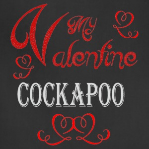 A romantic Valentine with my Cockapoo - Adjustable Apron