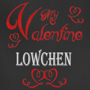 A romantic Valentine with my Lowchen - Adjustable Apron
