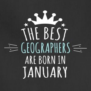 Best GEOGRAPHERS are born in january - Adjustable Apron