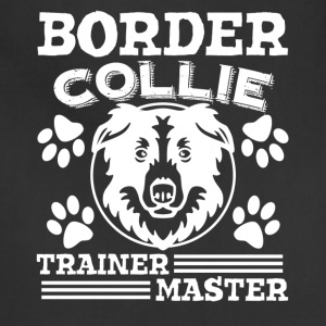 Border Collie Master Trainer Shirt - Adjustable Apron