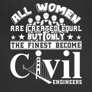 Civil Engineer Tshirt - Adjustable Apron