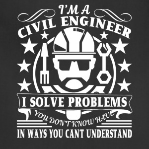 Civil Engineer Fun Shirt - Adjustable Apron