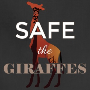 Safe the giraffes - Adjustable Apron
