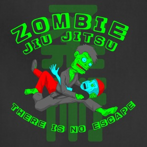 Zombie Jiu Jitsu there is no escape - Adjustable Apron