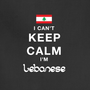 I CAN'T KEEP CALM I'M LEBANESE - Adjustable Apron