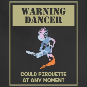 Warning Dancer - Adjustable Apron