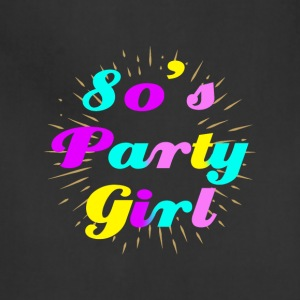 Girl Party 80's Style - Adjustable Apron