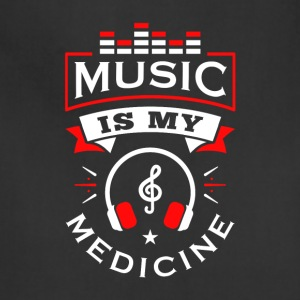 Music Is My Medicine - Adjustable Apron