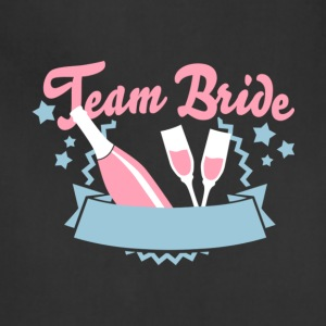 Team Bride T Shirt - Adjustable Apron
