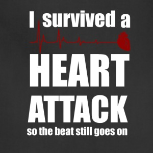 I survived a Heart Attack - Adjustable Apron