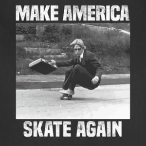 Make america skate again shirt - Adjustable Apron