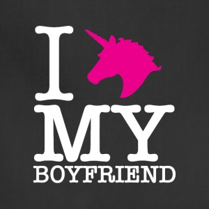 I Unicorn my boyfriend. - Adjustable Apron