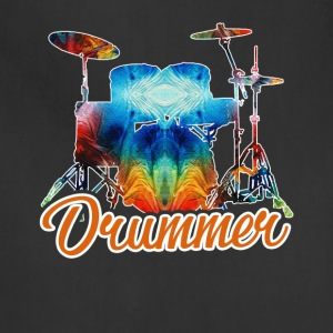A Drummer And His Drums Shirt - Adjustable Apron
