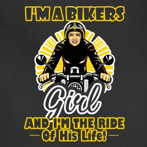 Biker Ride Of His Life Shirt - Adjustable Apron