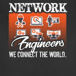 Funny Network Engineer Shirt - Adjustable Apron