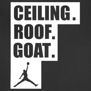 ceiling roof goat shirt - Adjustable Apron