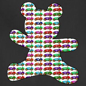 teddy bear filled with cars - Adjustable Apron