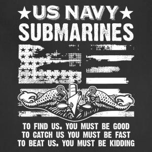 US Navy Submarine Tee Shirt - Adjustable Apron