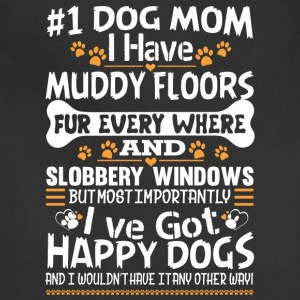 I've Got Happy Dogs T Shirt - Adjustable Apron