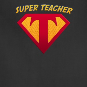Super Teacher for The Education Superhero - Adjustable Apron