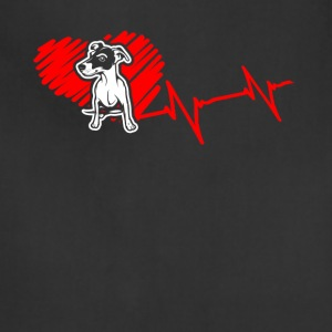 Jack Russell Terrier Heartbeat Shirt - Adjustable Apron