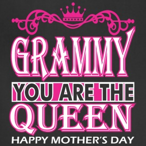 Grammy You Are The Queen Happy Mothers Day - Adjustable Apron