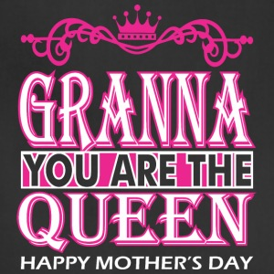 Granna You Are The Queen Happy Mothers Day - Adjustable Apron