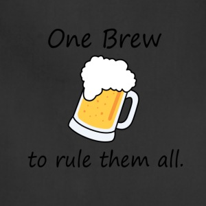 One Brew To Rule Them All - Beer - Adjustable Apron